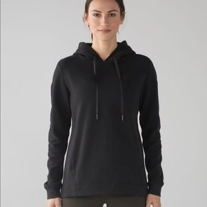 Lululemon Wind Down Pullover Sweatshirt Black New